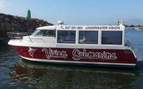 Barco de visión Submarina